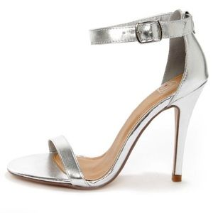 Shoes - Ankle Strap Heel